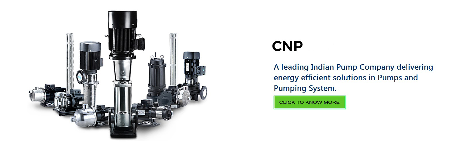 Industrial, Domestic Pump | Booster System | CNP PUMPS INDIA